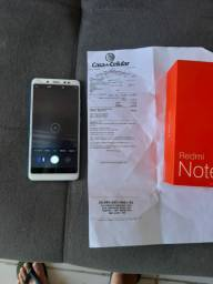 Xiaomi note 5 pro 64gb 4 ram com nota fiscal
