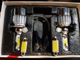 Kit Lâmpada de led H4 6000k(ACEITO TROCA)