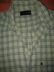 2 camisas sociais masculinas GG manga longa