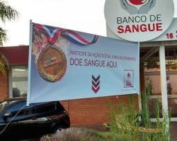 Faixa Impressa Personalizada Atendemos Toda Santa Catarina