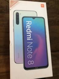 Xiaomi Redmi note 8 64GB azul Global novo parcelo em 10x sem juros