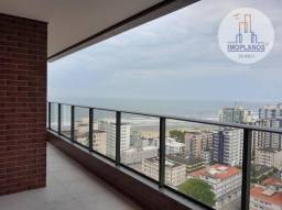 Apartamento com 3 dormitórios à venda, 145 m² por R$ 760.000,00 - Vila Guilhermina - Praia