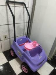 Carrinho com empurrador Homeplay Baby Car