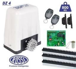 Motor 1/3hp Portão Deslizante 800kg Rossi Dz4 Turbo-instalado