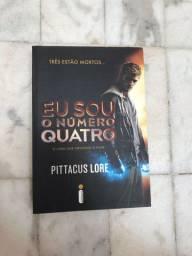Livro Eu Sou O Número Quatro de Pittacus Lore