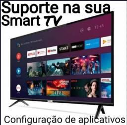 Configuração em TV Smart ( suporte )