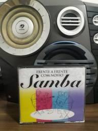 Box 4 Cd´s - Frente A Frente Com Nosso Samba