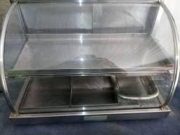 Otima estufa de salgados