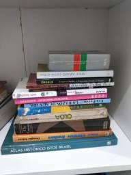 Vendo diversos livros (para sebo ou colecionador)