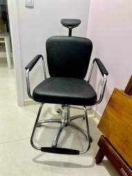 Cadeira Reclinável Hidráulica Salão De Beleza