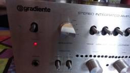 Amplificador Gradiente Model 160. Vintage 1978