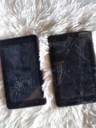 2 tabletes para retirada de peças ou conserto