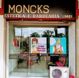 Moncks estética e barbearia