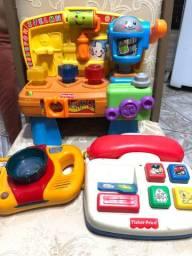 Brinquedos Fischer price *Todos por 160,00