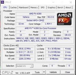 Kit upgrade amd fx3600 8gb + hd500gb