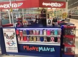Quiosque para acessórios para celular e informática