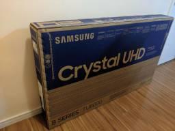 Tv Samsung Crystal 4k 55 nova lacrada com nota e garantia