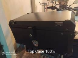 Baú Top Case Roncar 56lts + Suporte