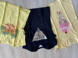 Camisetas Guess, Gap tamanho 06/07