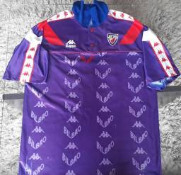 Camisa Athletic Bilbao 1992 - 1993 Kappa<br><br>