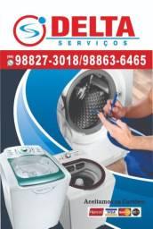 Máquina de lavar eletrodomésticos serviços