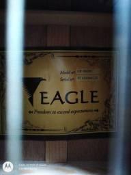 Violão Eagle ch-800nt com capa Vulcan e tamborim de brinde