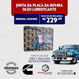 JUNTA DA PLACA DA BOMBA DE ÓLEO LUBRIFICANTE ORIGINAL CUMMINS