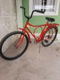 Bicicleta Barra Circular Antiga
