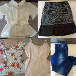 Lote roupas semi novas