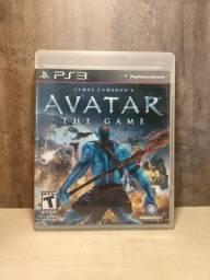 Avatar The Game Ps3 Jogo Impecável Funcionando Perfeitamente