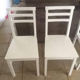 Conjunto de cadeiras meu Móvel de Madeira