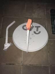 Antena para tv por satélite