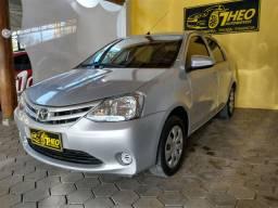 Etios sedan X 2015 único dono!