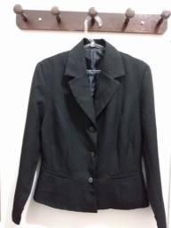 Terninho (blazer) preto