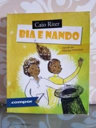 "Livro ""Bia e Nando"""