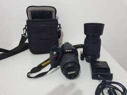 Nikon D5100 com 2 lentes (500 clics)