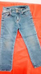 Calça jeans infantil com stretch