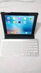 IPad 3ª Geração 32GB + Apple Magic Keyboard (com capinha de couro vegano)