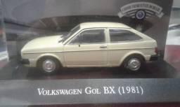 Miniatura Volkswagen Gol Bx 1981 Carros Inesquecíveis Do Br