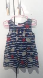 Vendo um vestido de Menina tamanho 1 ano