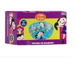 Piscina De Bolinhas Show Da Luna Com 100 Bolinhas Coloridas