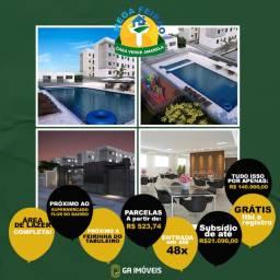 Minha Casa Minha Vida no Petrópolis, subsídio e documentação grátis, a partir de 140mil!