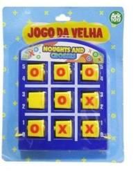 Jogo da Velha Noughts And Crosses Colors 11,5x9,5cm