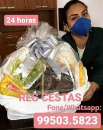 Completas e a pronta entrega RLC cesta dia das mães 09