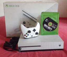 Xbox one S 1 tera na caixa passo cartão
