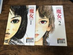 1º e 2º volume do mangá Witches