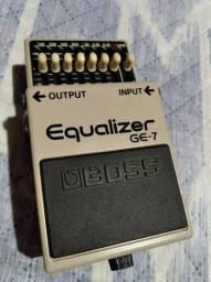 R$ 500 R$ 550 Pedal Boss Equalizer Ge7