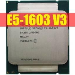 Processador Intel Xeon E5 1603 V3 lga 2011 ddr4