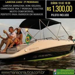 Alugamos, Lanchas, Iates e Barco em Manaus