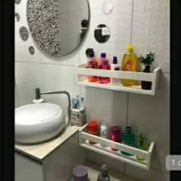 Vende se nichos pra banheiro em MDF